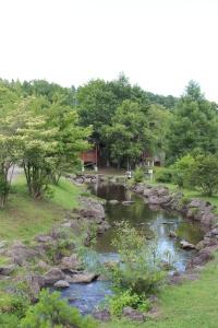 夏休みに両親、弟家族と行ったHさんお気に入りのキャンプ場。
